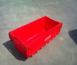 Lsc - Large Security Crate With Attached Lids